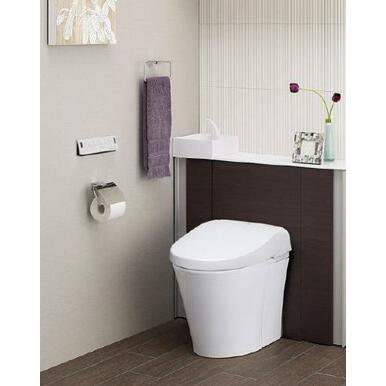 見た目スッキリ。タンク周りのお掃除も快適なエコトイレ。