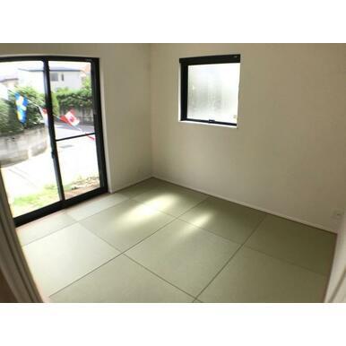 和室 防汚加工が施されているので、お手入れも簡単です。